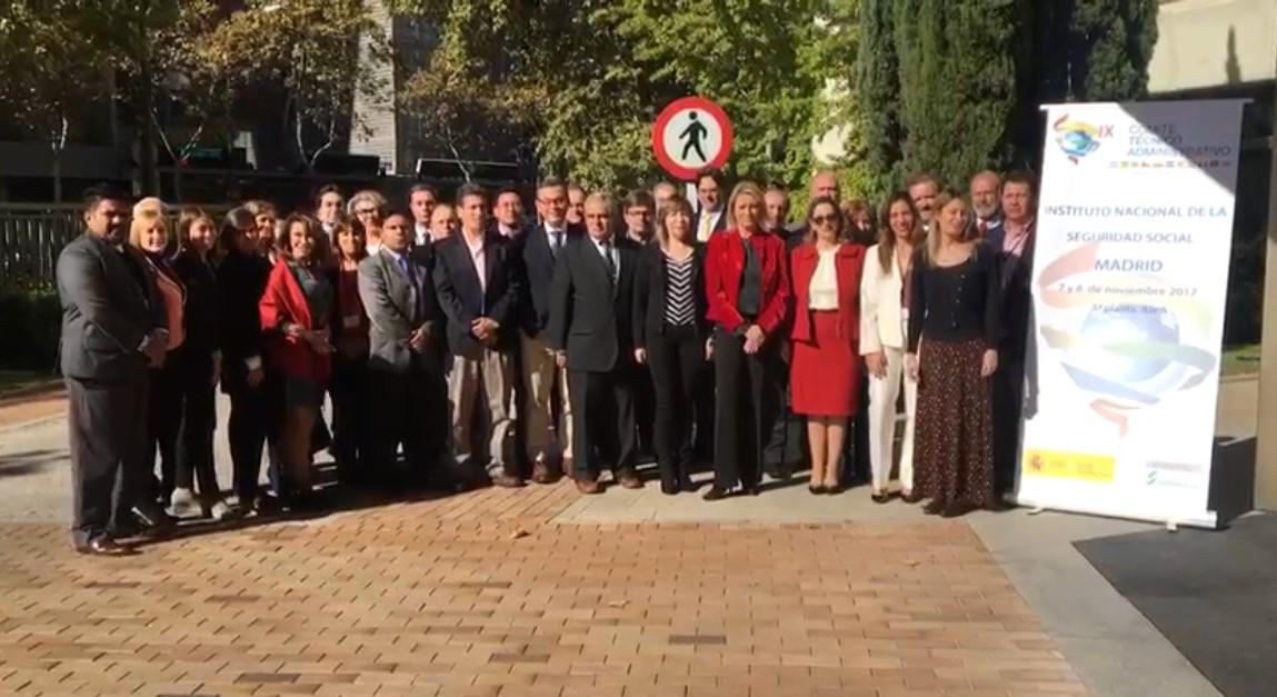 Foto de familia del IX Comité Técnico del CMISS