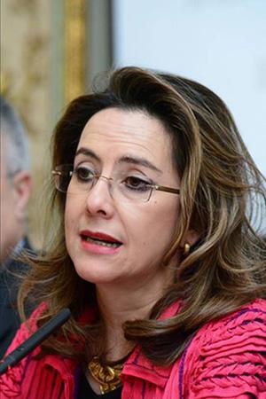 Gina Magnolia Riaño Barón, secretaria general de la Organización Iberoamericana de Seguridad Social