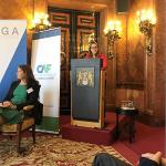 Intervención de la secretaria general de la OISS, Gina Magnolia Riaño Barón