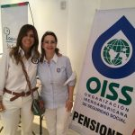 La Cónsul General Central de Colombia en Nueva York y la Secretaria General de la OISS