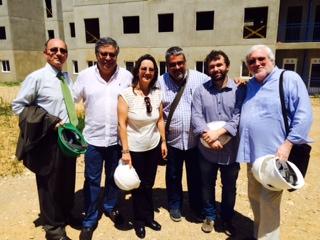 La Secretaria General de la OISS, Gina Magnolia Riaño Barón con autoridades de Venezuela en Visita a la ciudad bicentenario