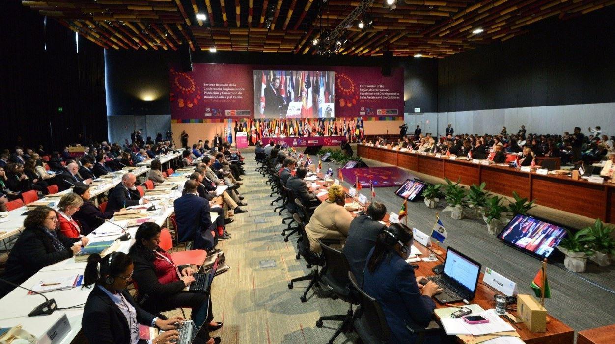 Foto en desarrollo de la Conferencia