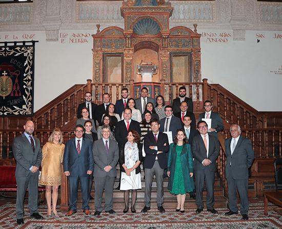Foto de familia Master en Dirección y Gestión de Planes y Fondos de Pensiones