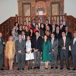 Foto de familia del Master en Prevención y Protección de Riesgos Laborales